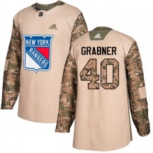 Michael Grabner New York Rangers Adidas Youth Premier Away Jersey - White